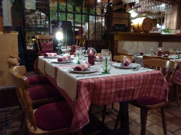 Le caveau Heuhaus sert des spécialités alsaciennes.Une bonne adresse.