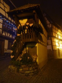 Dans les rues d'Eguisheim.
