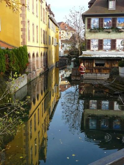 """La """"Petite Venise"""" à Colmar."""
