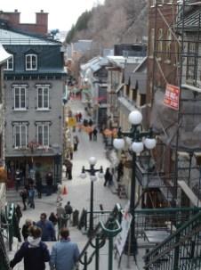 Le quartier du petti Champlain.