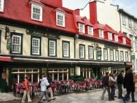 Un restaurant du Vieux Québec.
