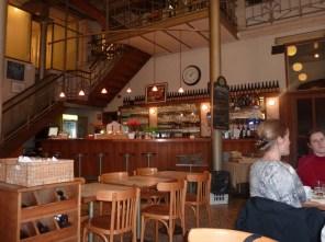 La brasserie Horta a été dessinée par l'architecte Victor Horta.