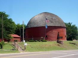 La grange ronde, à Arcadia.