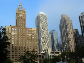 Les buildings de Chicago.