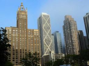 Les buildings de Chicago.