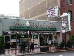 Le restaurant le Lou Mitchell's marque le point de départ de la Route 66.