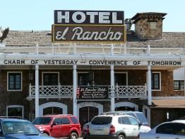 A Gallup, El Rancho futun hôtel mythique dans lequel descendaient les plus grandes stars hollywoodiennes.