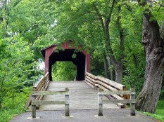 Un des derniers ponts en bois du Missouri. Un petit air de Sur la Route de Madison...