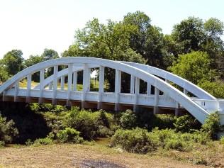 Le pont Marsh, à Rivertown.