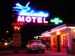Le Blue Swallow Motel est un motel mythique de Tucumcari.