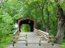 Le Sugar Creek Covered Bridge dans le Missouri