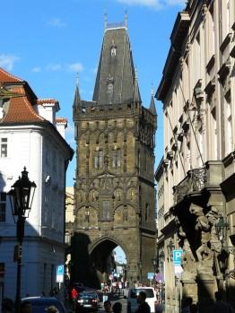 Au cœur de la vieille ville.