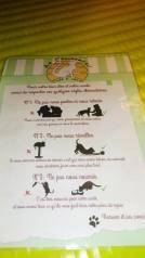 Il existe quelques règles à respecter.