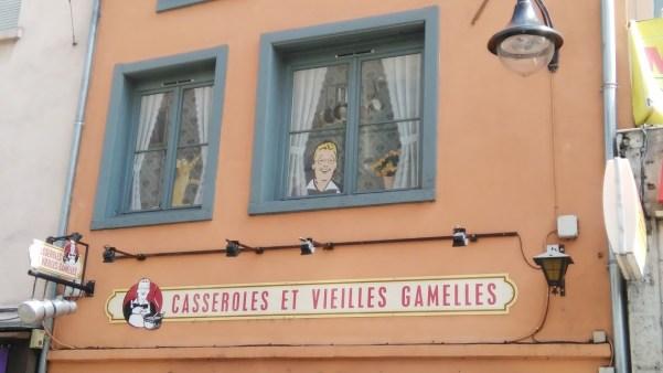 Le restaurant est situé Grande Rue de la Croix-Rousse.