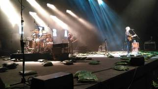 A la fin du concert.