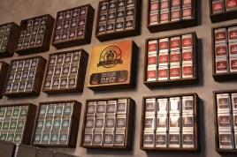Une vingtaine de sortes de thés vous attendent au Gentlecat.