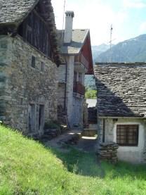 A Bosco, un des petits hameaux de Bognanco.