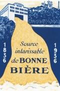 Une réclame pour les 100 ans de la brasserie Georges.
