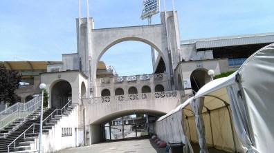 Tony Garnier s'est inspiré de la Grèce Antique pour la construction du stade de Gerland.