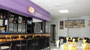 A l'intérieur du restaurant Le Selam.