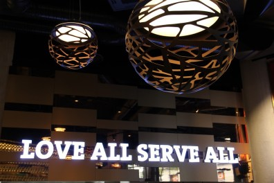 Love all serve all