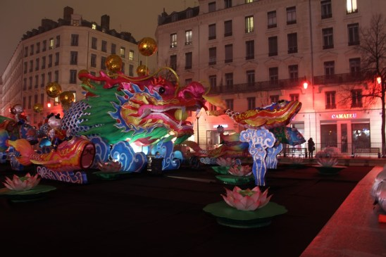 Fête des Lumières 2016 - La Carpe Koï – Place de la République