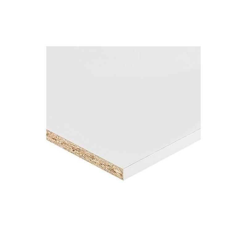 panneau melamine 18mm 250x60cm blanc