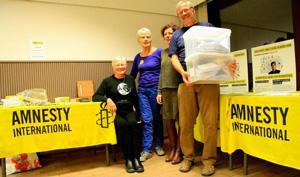 Schrijven voor Amnesty