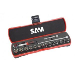 Coffret de douilles 17 Pcs Sam 5-14mm