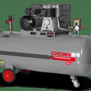 Compresseur à air Crown 3HP 200L