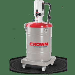 Pompe à graisse pneumatique 50:1 30L Crown