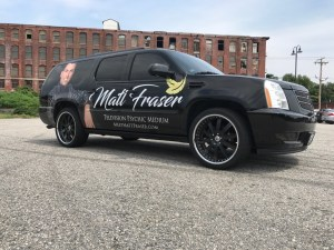 Matt Fraser Vehicle Wrap Pass 2017