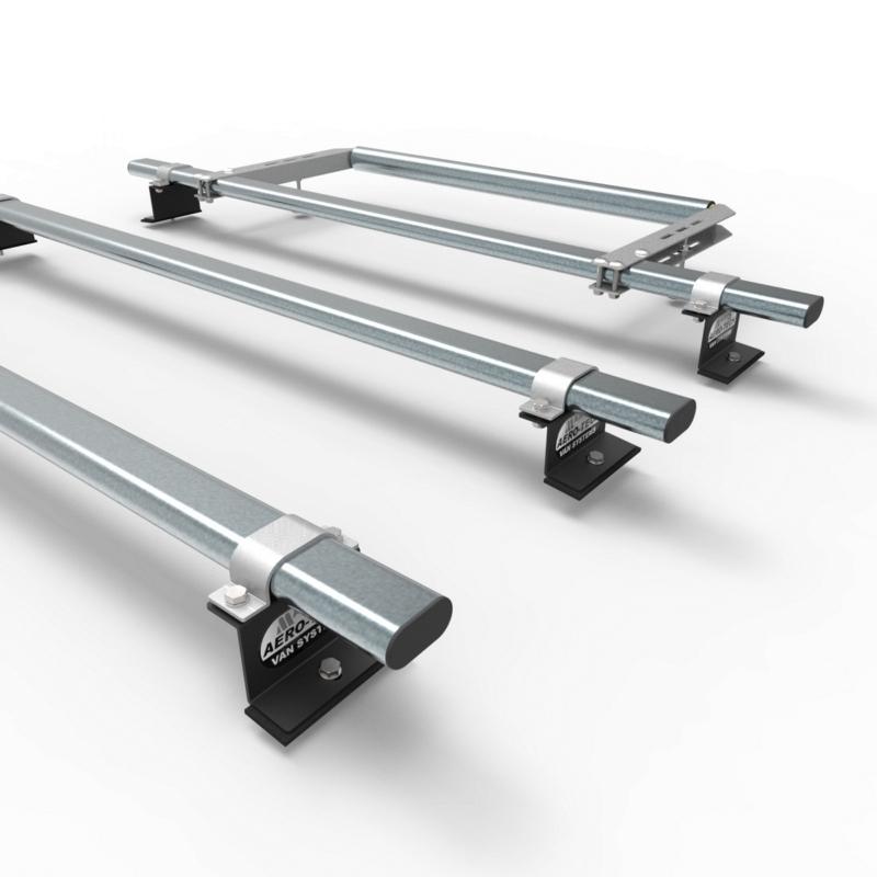 nissan nv200 aero tech 3 bar roof rack system rear roller at59 a30