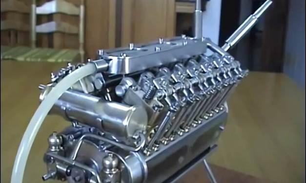 Motor V-12 una maravilla de la Ingeniería
