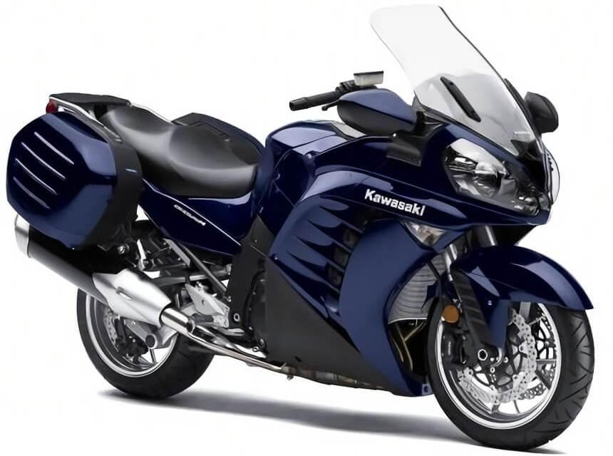 Manual Kawasaki gtr 1400