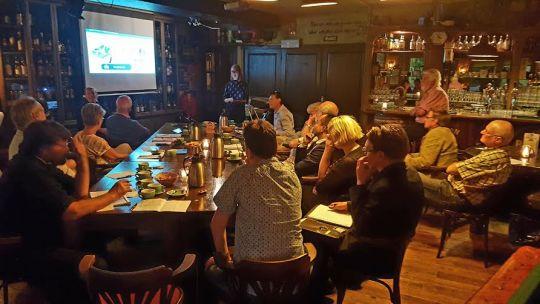 'Ledenvergadering LADA op 30 mei 2016 - Foto: Theo Moras.