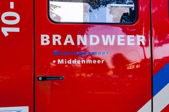 Brandweer Middenmeer Foto: Alexander Bügel