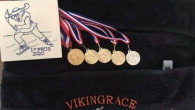 Photo of Evelien Vijn zeer succesvol tijdens de laatste Vikingrace