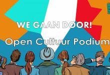 Photo of Open Cultuur Podium uitzendingen gaan door