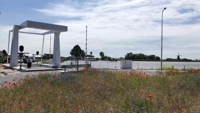 Photo of Kerkwegbrug in Anna Paulowna drie dagen dicht
