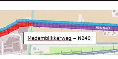 Photo of Groot onderhoud Medemblikkerweg (N240)