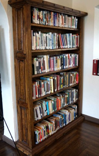 mesquite bookcase