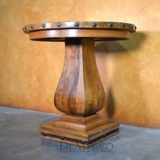 Gitana Mesquite Bar Table, Spanish Bar Table