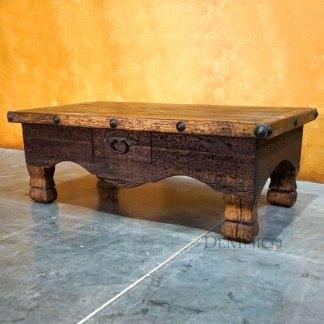 Mesa Colonial Cajon, Old Wood Coffee Table