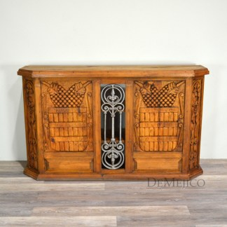 carved spanish bar