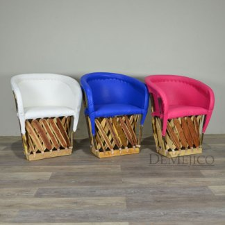 Spanish Equipal Chairs, Spanish Style Seating, Mexican Lounge Chair