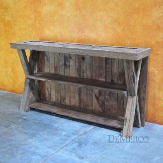 Consola de Campo, Reclaimed Door Console Table, Farmhouse Console, Farmhouse Style, Rustic Console
