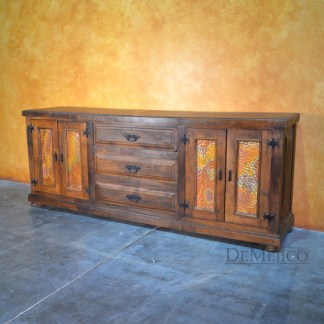 Old World Copper Buffet