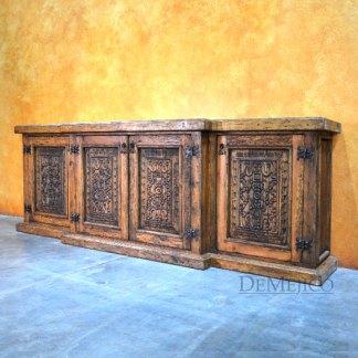 Oaxaca Old Wood Buffet, Spanish Buffet Table