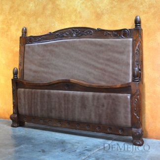 Spanish Poster Bed, Spanish Leather Bed